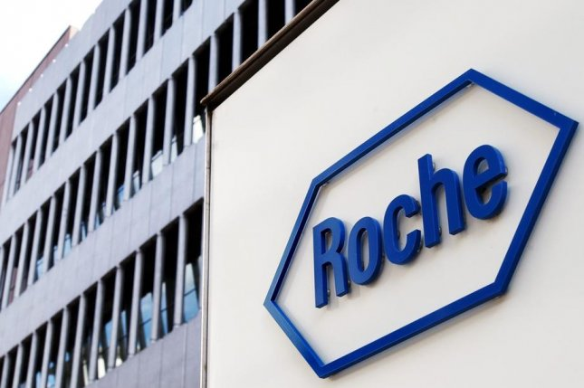 Moderna's vaccine activates an antibody response to proteins found on the coronavirus' binding spikes, meaning Roche's test can be useful in measuring a patient's response over time, officials say. File Photo by Steffen Schmidt/EPA-EFE