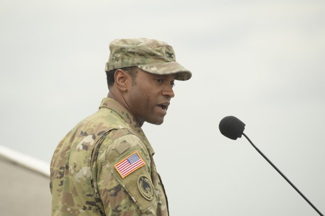 U.S. Army Colonel Kevin Russell assumed command of Joint Task Force-Bravo during a change of command ceremony at Soto Cano Air Base, July 17, 2018. Photo by Martin Chahin/Joint Force Bravo/U.S. Department of Defense