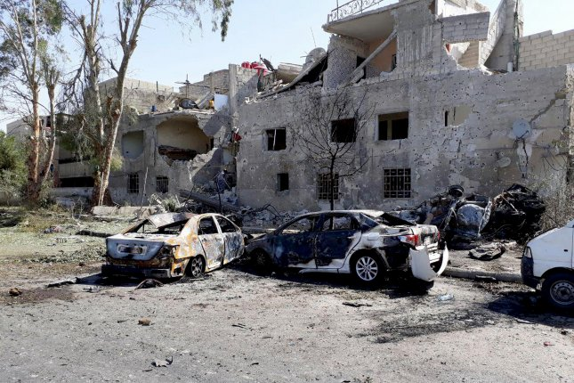 3 car bobmbs in Damascus