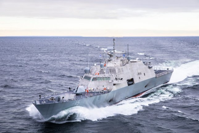The USS Billings (LCS 15) completed Acceptance Trials in Lake Michigan ahead of its expected delivery to the U.S. Navy in 2019. Photo courtesy of Lockheed Martin