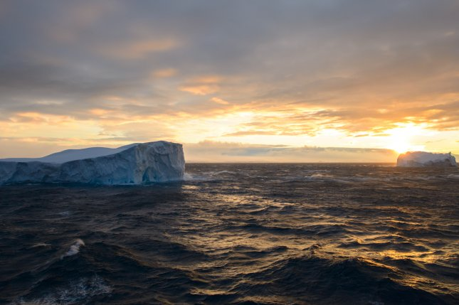 Researchers say changes in upwelling patterns in the Southern Ocean have a strong impact on the planet's carbon cycle, perhaps explaining Earth's glacial-interglacial cycles. File Photo by Reeve Jolliffe/Flickr/NASA