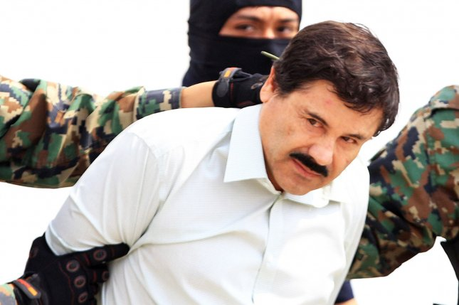 Joaquin El Chapo Guzman's arrest was part of Mexico's so-called decapitation strategy in which forces target the leaders of drug cartels in order to destabilize them. File Photo by Mario Guzman/EPA