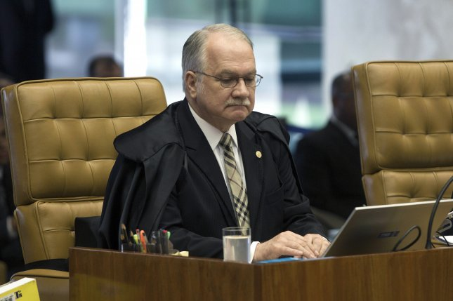 Brazilian Supreme Federal Court Justice Edson Fachin has overseen a case in Brazil related to the multinational Odebrecht corruption scandal. File Photo by Joedson Alves/EPA