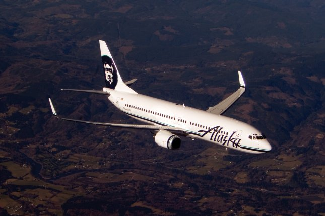 An Alaska Airlines Boeing 737-800 airplane. Photo courtesy Alaska Airlines