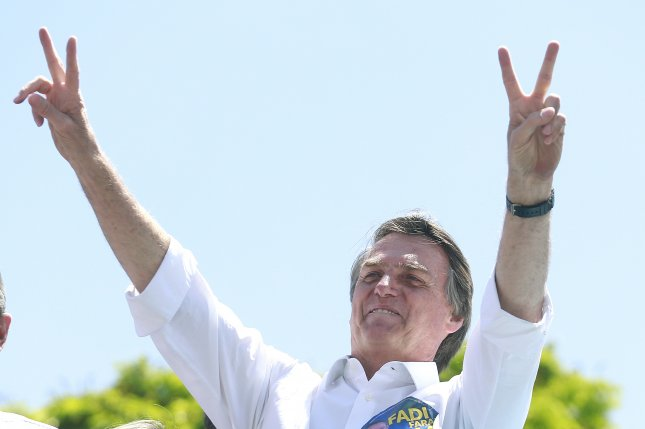 Brazilian presidential candidate Jair Bolsonaro was stabbed during a campaign event and was later hospitalized. His son said he was in stable condition after losing a lot of blood. Photo by Joédson Alves/EPA