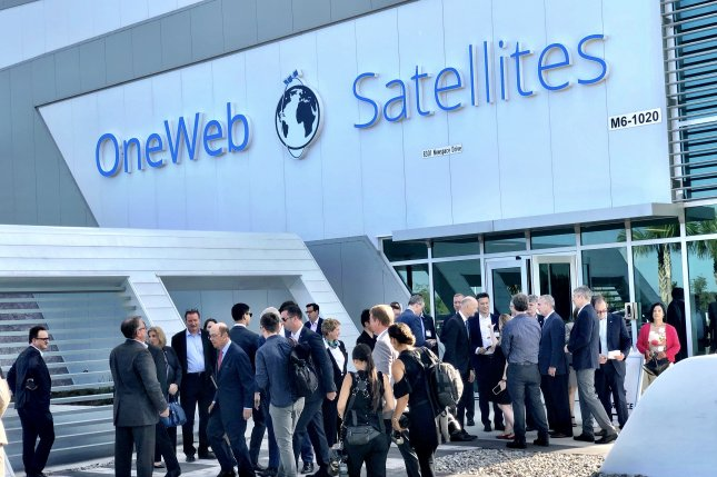 The March bankruptcy of satellite contractor OneWeb has the Defense Department considering financial help to troubled startup satellite companies to keep their assets out of Chinese hands, a U.S. Space Force official said on Tuesday. File Photo by Paul Brinkmann/UPI