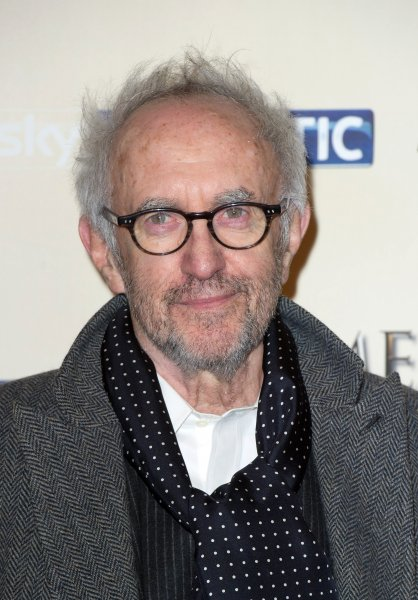 Jonathan Pryce arrives to the world premiere of Game of Thrones Season 5 at The Tower of London on March 8, 2015. Pryce is set to portray Pope Francis in a new Netflix film along with Anthony Hopkins as Pope Benedict. File Photo by EPA/STR