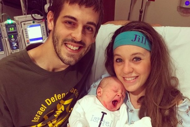 Derick Dillard, Jill Duggar Dillard and their son, Israel David Dillard, in 2015. The couple welcomed a son named Samuel Saturday. Photo by jillmdillard/Instagram