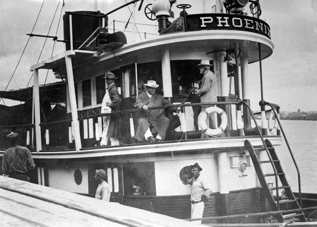 President-elect William Howard Taft in Panama in February 1909. On May 8, 1909, President William Howard Taft announced he would continue the conservation policies put in place by his predecessor, President Theodore Roosevelt. File Photo by Library of Congress/UPI