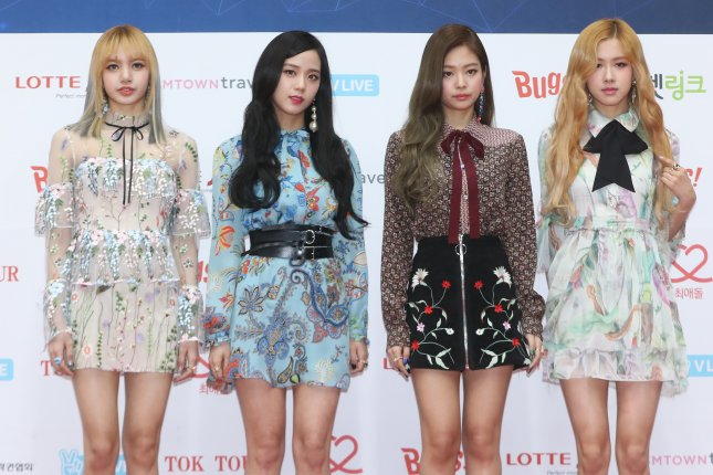 Black Pink will kick off its first-ever North American tour April 17 in Los Angeles. File Photo by Yonhap News Agency/EPA