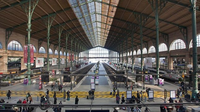 The Gare du Nord train station in Paris is one of Europe's busiest transportation hubs. EPA Photo