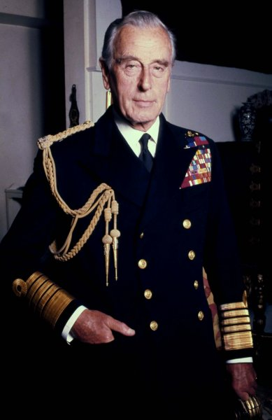 On August 27, 1979, IRA militants killed Louis Mountbatten, a cousin of Queen Elizabeth II of England, by blowing up his boat. It was the IRA's first attack on the royal family. File Photo by Allan Warren/Wikimedia