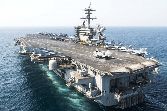 The U.S. Navy on Monday ruled Aviation Ordnanceman Airman Apprentice Ethan Garrett Goolsby deceased following a 55-hour search for the missing sailor by the aircraft carrier USS Theodore Roosevelt. Photo by Mass Communication Specialist Seaman Alex Millar/U.S. Navy
