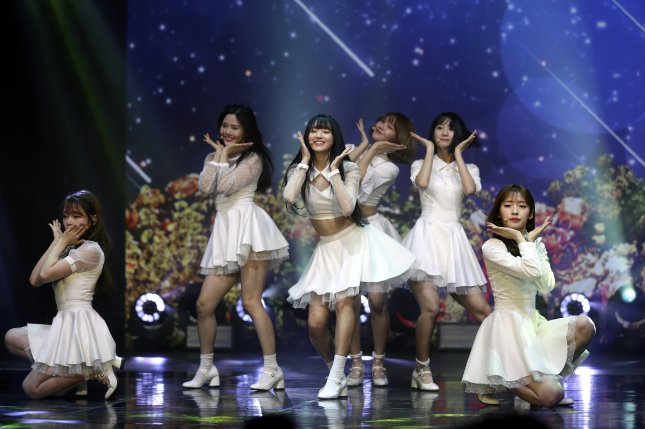 Oh My Girl teased the 10 songs from its debut album, The Fifth Season. File Photo by Yonhap News Agency/EPA-EFE