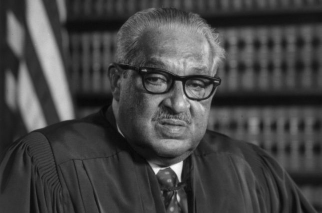Thurgood Marshall, the high court's first Black jurist, served on the bench between August 1967 and October 1991. He died in 1993 at the age of 84. Photo courtesy Library of Congress