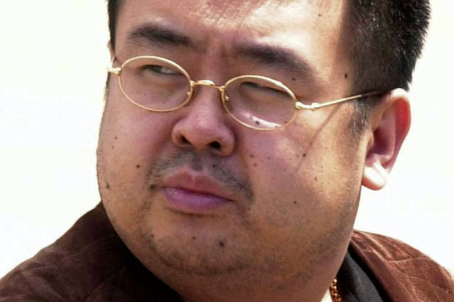 Christopher Ahn, the ex-U.S. marine who helped rescue the son of North Korean-in-exile Kim Jong Nam (pictured), said Kim Han Sol escaped after receiving a warning call. File Photo by Yonhap/EPA