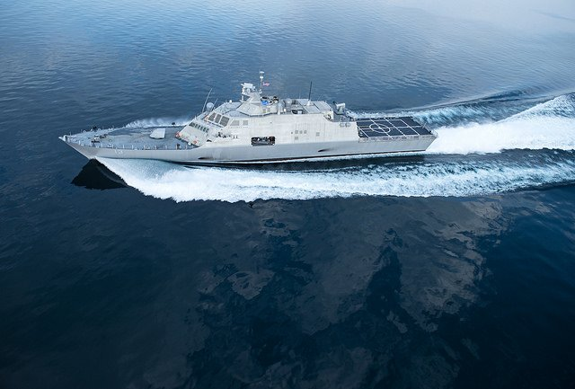 The USS Wichita, the 13th littoral combat ship of the U.S. Navy, is due to be commissioned in January 2019. Photo courtesy of the U.S. Navy