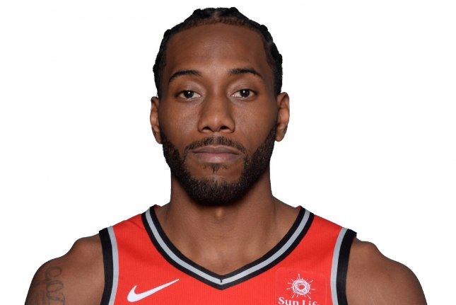 Toronto Raptors forward Kawhi Leonard had 31 points and 10 rebounds in a 113-101 win against the Boston Celtics on Friday in Toronto. Photo courtesy of the NBA.