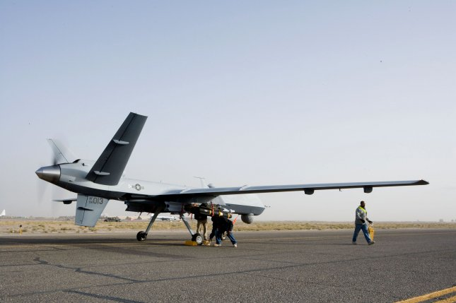 U..S. Central Command confirmed on Sunday that a MQ-9 Reaper drone was shot down on June 6 over Yemen by Houithi rebels. Photo courtesy of U.S. Air Force