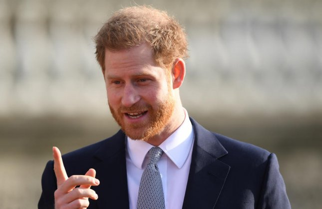 Britain's Prince Harry continues to support the Invictus Games competitors, even though this year's in-person events have been canceled due to the coronavirus pandemic. File Photo by Neil Hall/EPA-EFE