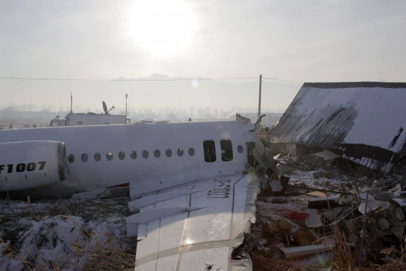 Crews locate 'black boxes' in Kazakhstan crash that killed 12