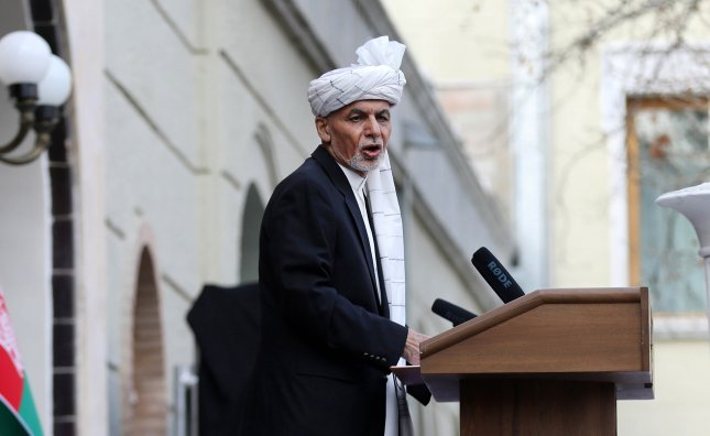 Afghani President Ashraf Ghani has agreed to release Taliban prisoners ahead of peace talks with the militant group. Photo by Jawad Jalali/EPA-EFE