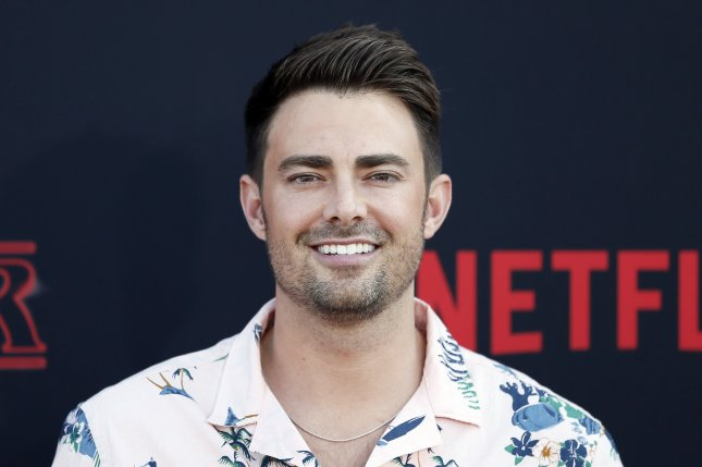 Jonathan Bennett stars in romantic comedy Surprise Me!, due out on video on-demand Friday.File Photo by Etienne Laurent/EPA-EFE