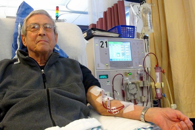 Fifty-five percent of people older than 65 die within a year of starting dialysis treatment. Photo by Anna Frodesiak/Wikimedia Commons