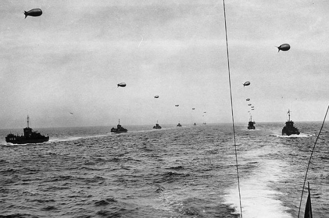 On June 6, 1944, hundreds of thousands of Allied troops began crossing the English Channel in the D-Day invasion of Nazi-occupied Europe. It was the largest invasion in history. File Photo courtesy of the U.S. Coast Guard.
