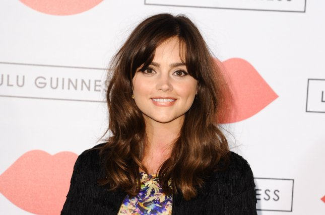Jenna Coleman at the Lulu Guinness Paint Project event in London on July 11, 2013. The actress is working on Season 2 of ITV's Victoria. File photo by Featureflash/Shutterstock