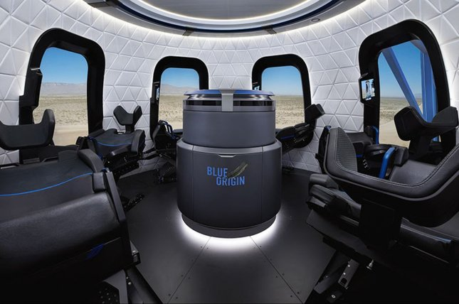 Blue Origin plans to launch its first crewed flight on the New Shepard rocket in July. File Photo courtesy of Blue Origin