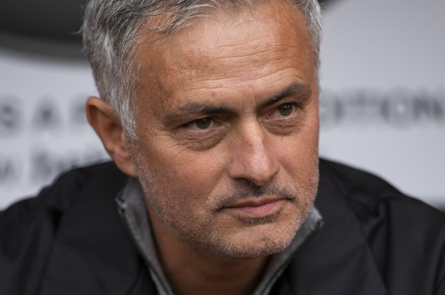 Former Tottenham Hotspur manager Jose Mourinho, who was fired two weeks ago, was hired Tuesday to coach Italian Serie A soccer team AS Roma. Photo by Peter Powell/EPA-EFE