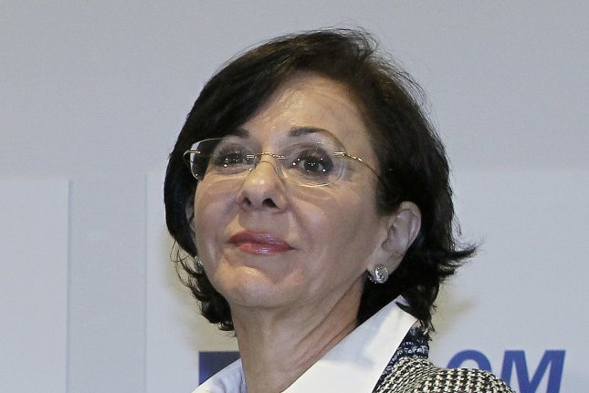Rima Khalaf, an under secretary-general of the United Nations and executive secretary of the Economic and Social Commission for Western Asia, announced her resignation after a report from the agency described Israel as an apartheid regime. Photo by Nabil Mounzer/EPA