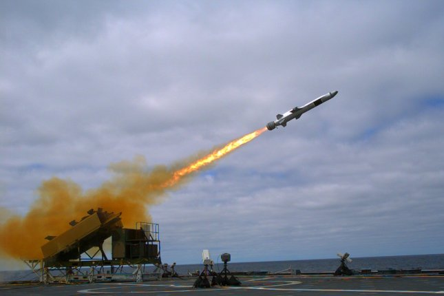 The Naval Strike Missile, produced by Raytheon and Kongberg, has been chosen by the U.S. Navy for use on littoral combat ships and future frigates. Photo courtesy of Kongsberg Gruppen