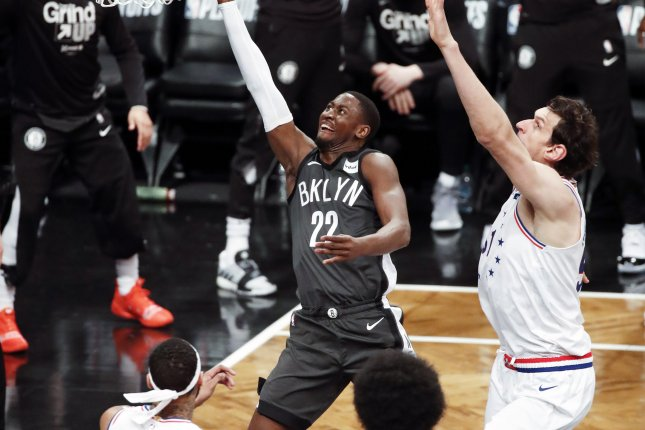 Former Brooklyn Nets guard Caris LeVert (22) was averaging 18.5 points, six assists and 4.3 rebounds per game this season before being traded to the Indiana Pacers earlier this month. File Photo by Jason Szenes/EPA-EFE