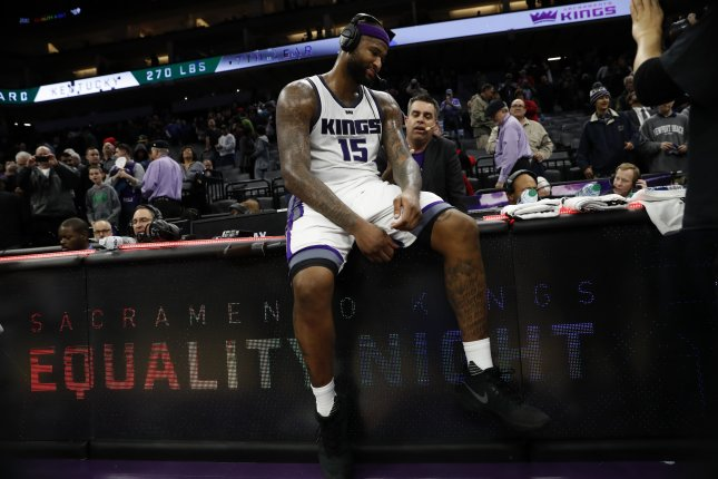DeMarcus Cousins emotional after Sacramento Kings trade him