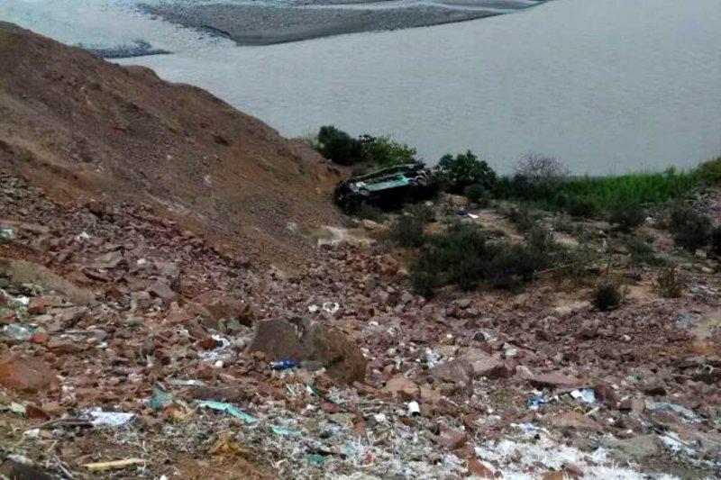 Peru bus crash kills at least 35