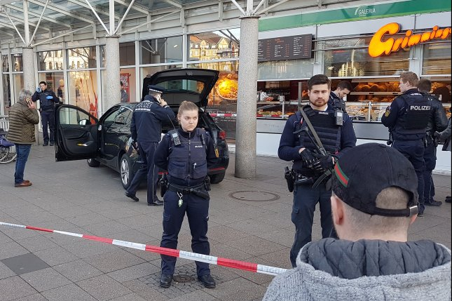 German police shoot man after auto ploughs into group in Heidelberg