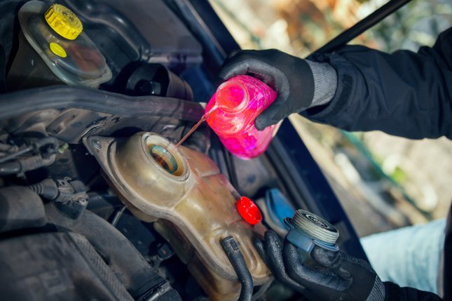 Details of a new, non-toxic antifreeze that outperforms traditional antifreeze are being presented this week at a meeting of the American Chemical Society. Photo by Jovan Mandic/Shutterstock