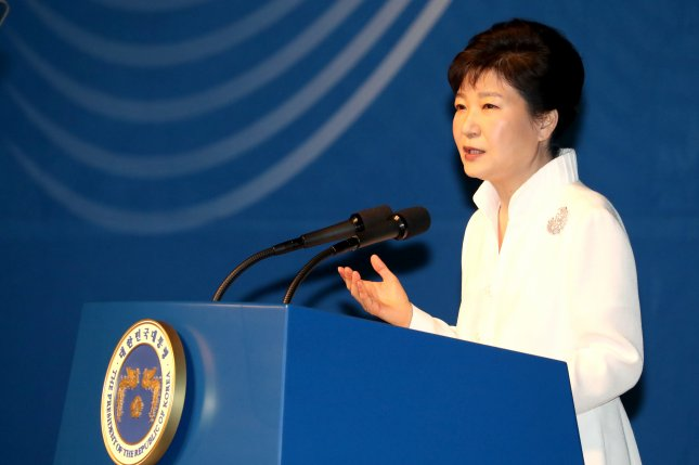 South Korea's Park Geun-hye used her position as the director of a philanthropic organization to build channels of civic exchange with North Korea in 2002. During her term as president, however, Park has taken a hardline stance against Pyongyang in response to increased provocations. Photo by Yonhap News Agency/UPI