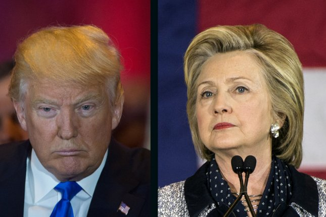 Hillary Clinton regained the lead over Donald Trump again Saturday, with a 3-point shift from the previous day. UPI file