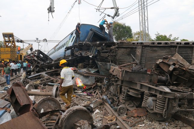 India train derailment kills dozens