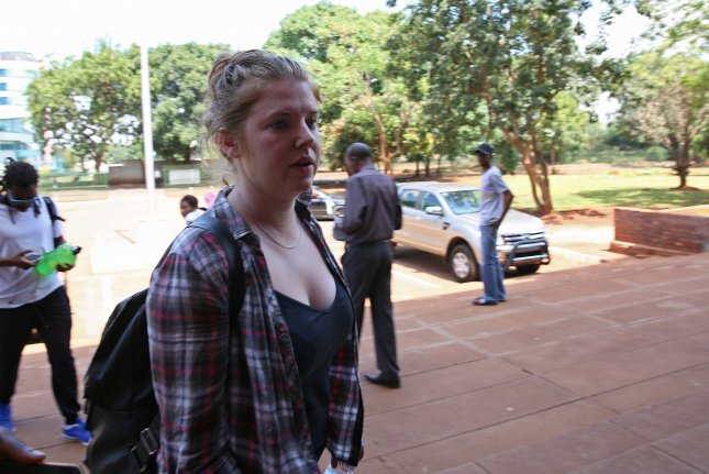 A judge in Zimbabwe's high court said there was an absence of facts in the state's case against Martha O'Donovan, who was arrested for allegedly insulting the president on Twitter. Photo by Aaron Ufumeli/EPA-EFE
