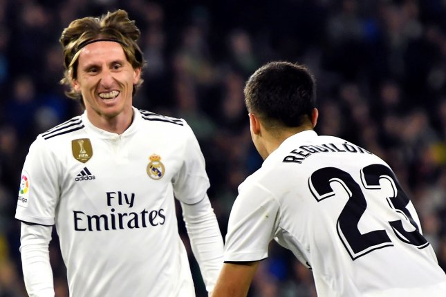 Luka Modric has scored 15 goals in 214 games with Real Madrid Photo by Raul Caro/EPA-EFE
