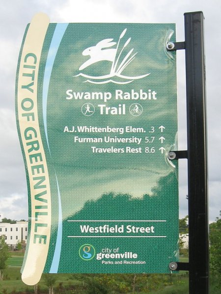 A South Carolina man has found an engagement ring at Swamp Rabbit Trail, which he wants to return to the owner. Photo by John Foxe/Wikimedia Commons