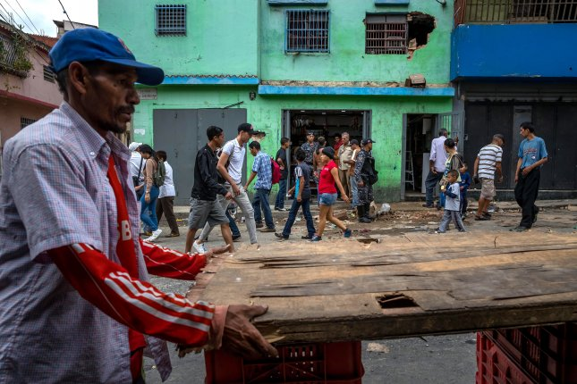 Venezuelan security forces have carried out hundreds of killings as part of crime fighting operations, the United Nations' human rights office said in a report Friday. File photo by Miguel Gutierrez/EPA-EFE