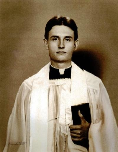 Chaplain Capt. Emil J. Kapaun died in 1950 while a prisoner of war in a Chinese-run camp in North Korea. File Photo courtesy of the Department of Defense