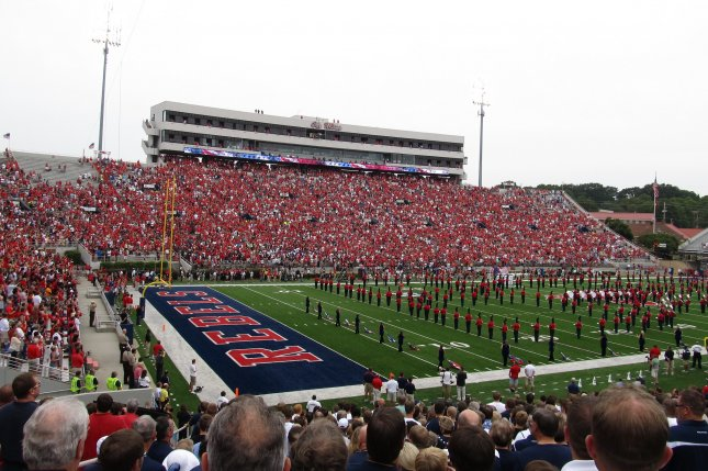 The University of Mississippi is not allowed to host any championship events on its campus under an NCAA rule that prohibits the events in states that fly the Confederate flag. Photo by Ken Lund/Flickr