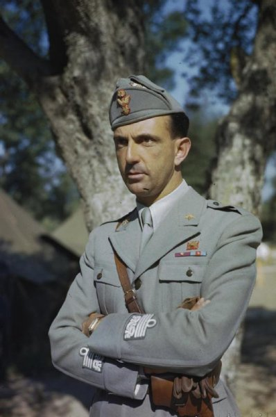 Italian Prince Umberto visits troops in Naples, Italy, in May 1944. On June 2, 1946, in a national referendum, voters in Italy decided the country should become a republic rather than return to a monarchy. Then-King Umberto II was forced off the throne, the last king of Italy. File Photo by Capt. Tanner/Imperial War Museum