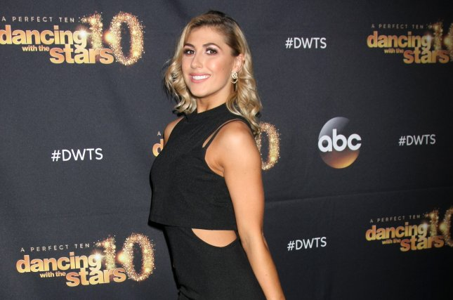 Emma Slater at the 'Dancing with the Stars' Season 20 premiere party on March 16, 2015. File photo by Helga Esteb/Shutterstock